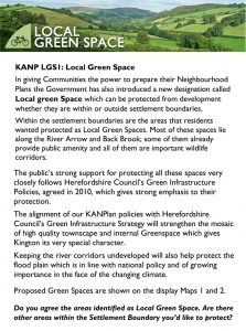 KANPlan B6 Green Space